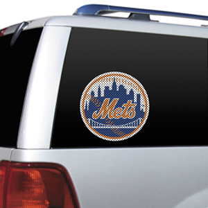 MLB New York Mets Auto Diecut Window Film
