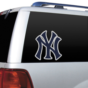 MLB New York Yankees Auto Diecut Window Film