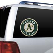 MLB Oakland Athletics Auto Diecut Window Film