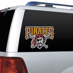 MLB Pittsburgh Pirates Auto Diecut Window Film