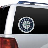 MLB Seattle Mariners Auto Diecut Window Film