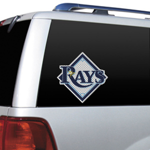 MLB Tampa Bay Rays Auto Diecut Window Film