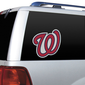 MLB Washington Nationals Auto Diecut Window Film