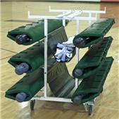 Bison 6 Post Deluxe Volleyball Cart