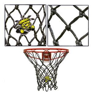 Krazy Netz Black Wichita State Univ Basketball Net