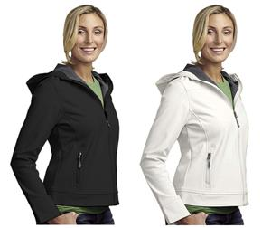 Landway Ladies Hooded Matrix Soft-Shell Jackets