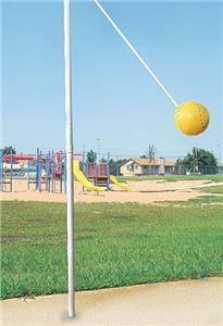 Bison In-Ground Tetherball Set