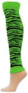 Red Lion Zebra Leg Warmers