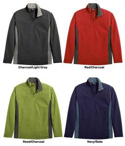 Landway Men&#39;s Klamath Waffle-Knit Fleece Pullovers