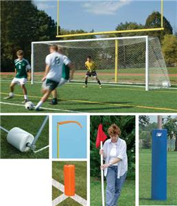 Bison Collegiate Football &amp; Soccer Combo Goal Pkg.