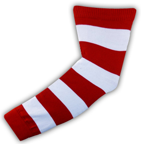 Red Lion Rugby Stripes Arm Warmers/Leg Warmers