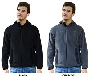 Landway Men's Roamer Hooded Microfleece Jackets
