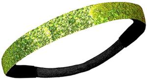 Diamond Duds Lime Green Glitter Headbands