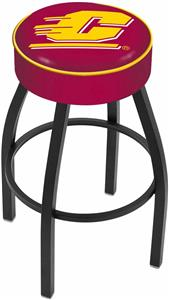 Holland Central Michigan University Blk Bar Stool