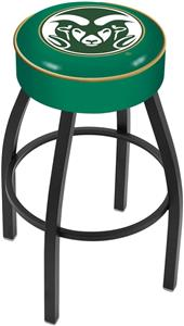 Holland Colorado State University Blk Bar Stool