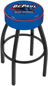Holland DePaul University Blk Bar Stool