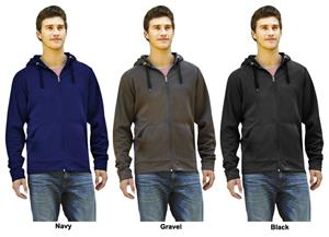 Landway Men&#39;s Competition Poly-Knit Fleece Jackets