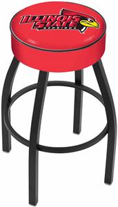 Holland Illinois State University Blk Bar Stool