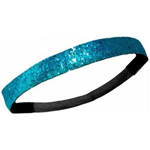 Diamond Duds Teal Glitter Headbands (10)