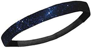 Diamond Duds Navy Glitter Headbands (10)