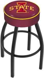 Holland Iowa State University Blk Bar Stool