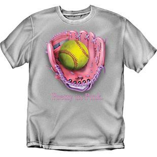 Pretty in Pink Softball tshirts