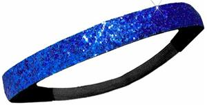 Diamond Duds Royal Glitter Headbands (Set of 10)