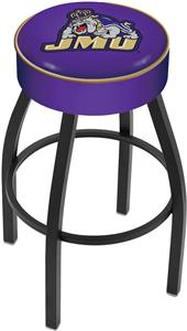 Holland James Madison University Blk Bar Stool