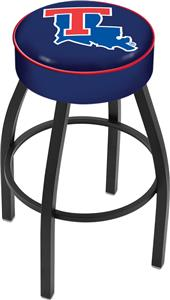 Holland Louisiana Tech University Blk Bar Stool