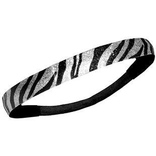 Diamond Duds Zebra Glitter Headbands (10)