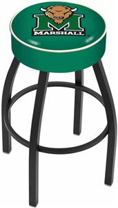 Holland Marshall University Blk Bar Stool