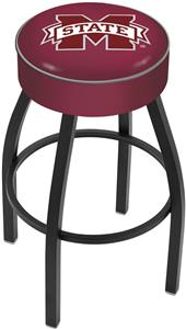 Holland Mississippi State University Blk Bar Stool