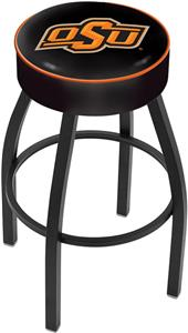 Holland Oklahoma State University Blk Bar Stool