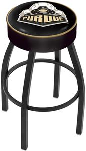 Holland Purdue Blk Bar Stool