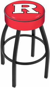 Holland Rutgers University Blk Bar Stool