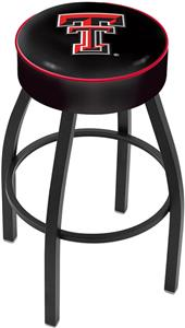 Holland Texas Tech University Blk Bar Stool