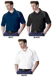 Landway Men&#39;s Tour Striped Sport Polo Shirts
