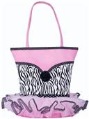 Sassi Designs Zebra Tutu Speciality Tote Bag