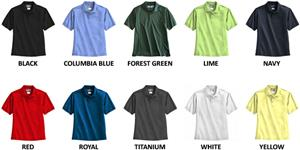 Landway Men&#39;s Club Moisture Wicking Polo Shirts