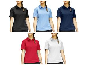Landway Ladies Club Moisture Wicking Polo Shirts