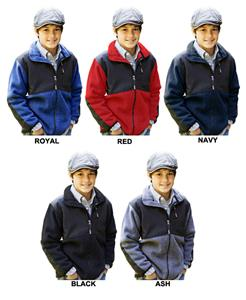 Landway Youth Performance Fleece Jackets