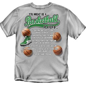 You Might Be...Basketball tshirts gifts