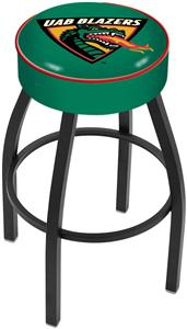 Holland University of Alabama UAB Blk Bar Stool
