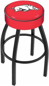 Holland University of Arkansas Blk Bar Stool
