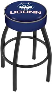 Holland University of Connecticut Blk Bar Stool