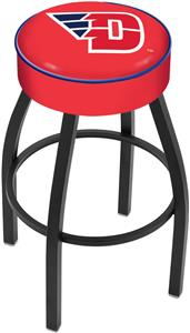 Holland University of Dayton Blk Bar Stool