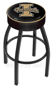 Holland University of Idaho Blk Bar Stool