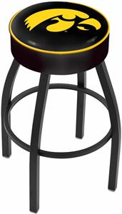 Holland University of Iowa Blk Bar Stool