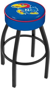 Holland University of Kansas Blk Bar Stool