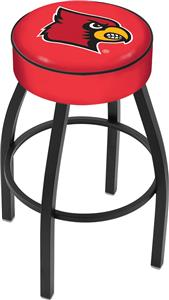 Holland University of Louisville Blk Bar Stool